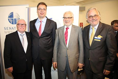 Vučić u Beču: Unapređenje srpsko-austrijske saradnje