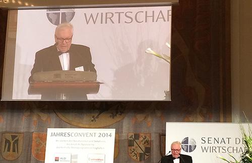 Ivanu Grosu uručena Povelja počasnog člana Senata privrede Nemačke