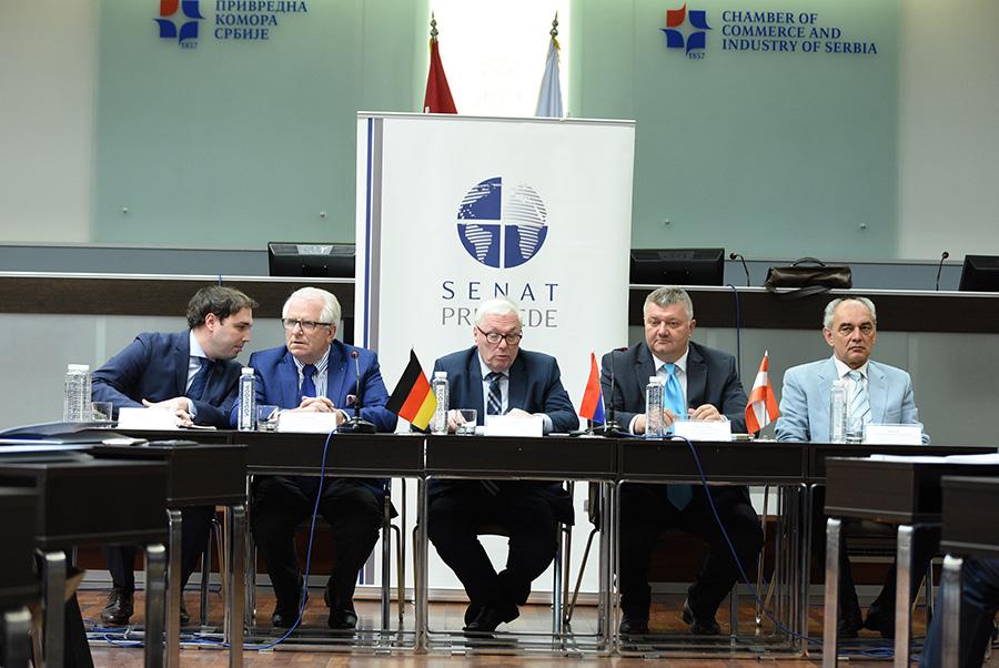 Strateško povezivanje članova Senata privrede Srbije sa kompanijama iz Nemačke i Austrije – 22/06/2015