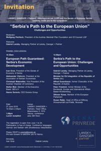 """Konferencija """"Put Srbije u EU – izazovi i prilike"""""""